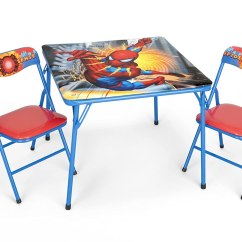 Spiderman Table And Chairs Babies R Us Kids Furniture Totally Bedrooms