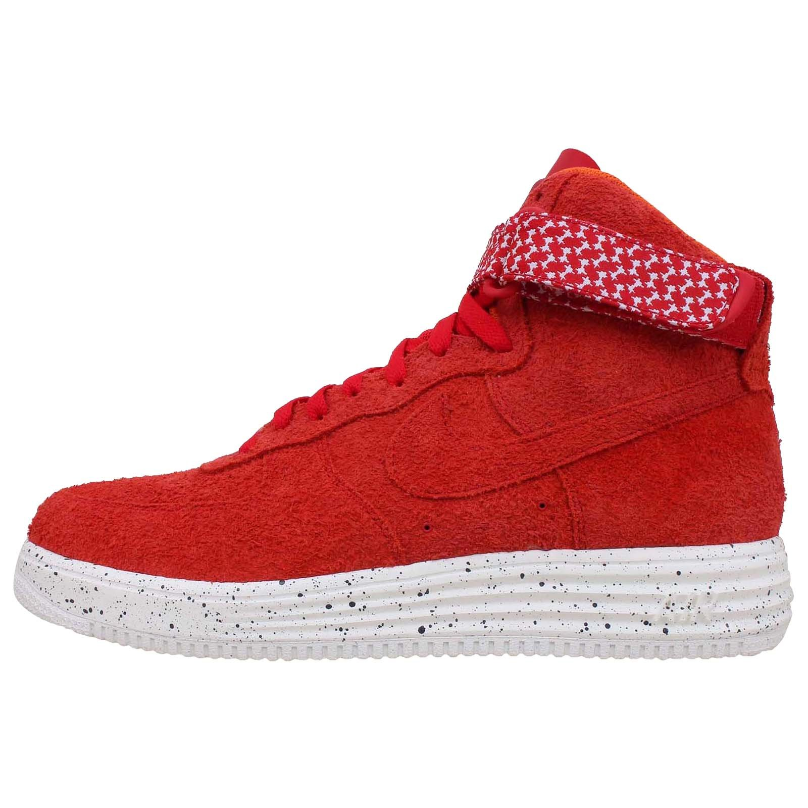 Nike Men's Lunar Force 1 HI UNDFTD SP, UNIVERSITY RED/UNIVERSITY RED