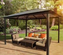 Stc Madrid Gazebo 10 13-feet Pergola