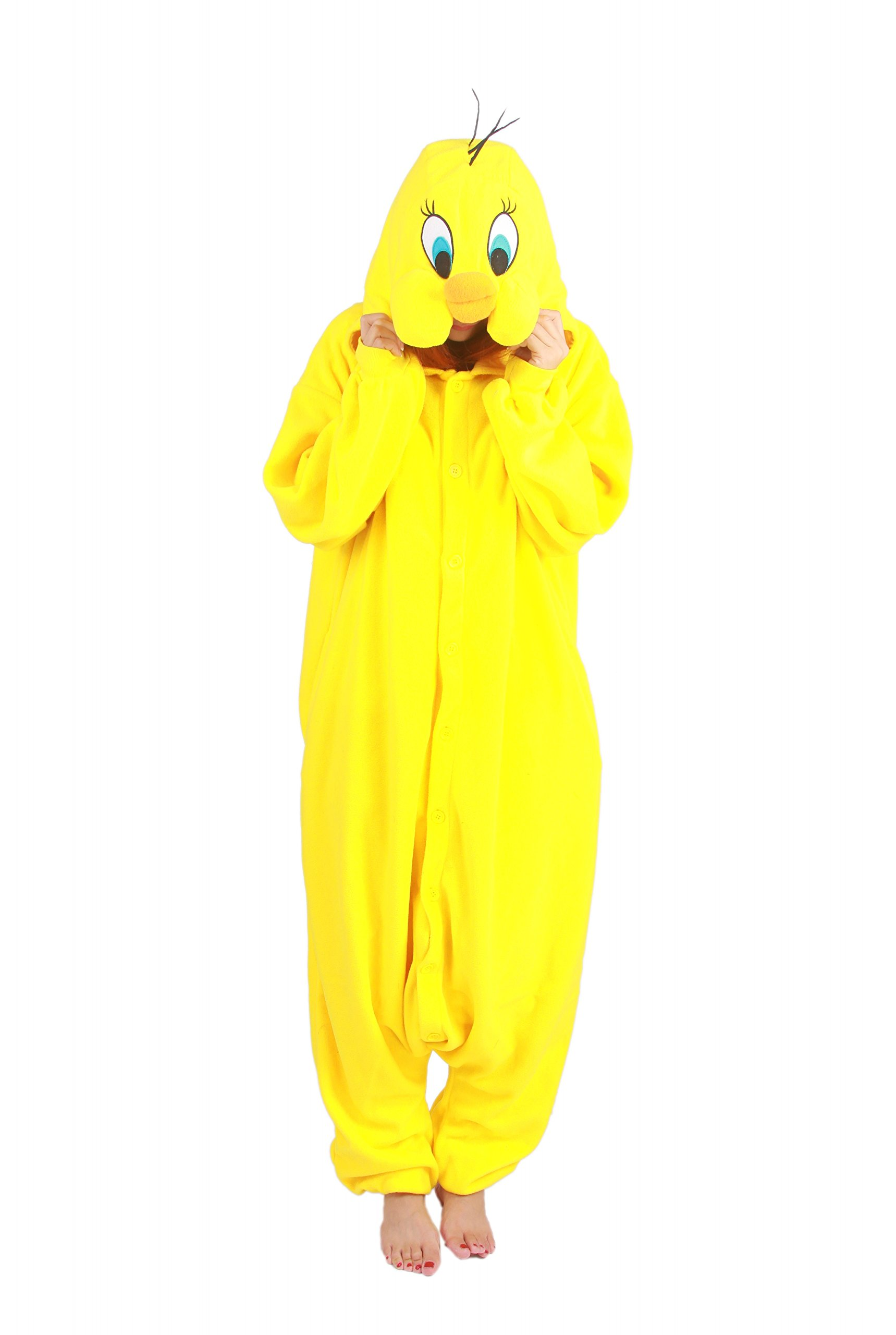 XMiniLife(TM)Animal Pajamas Cosplay Halloween Costume Tweety Bird Kigu