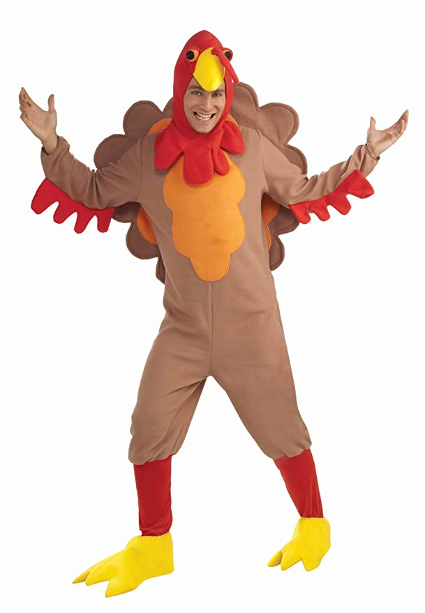 Adult Fleece Turkey Costume - XL