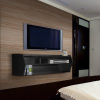 """Erfect 48"""" Floating TV Stand Wall Mount Media Console ..."""