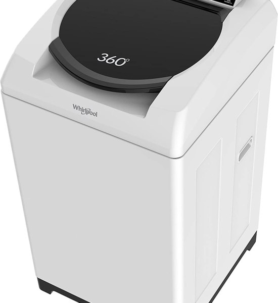 Whirlpool 360°World Series 80H Fully-automatic Top-loading Washing Machine (8 Kg, White)