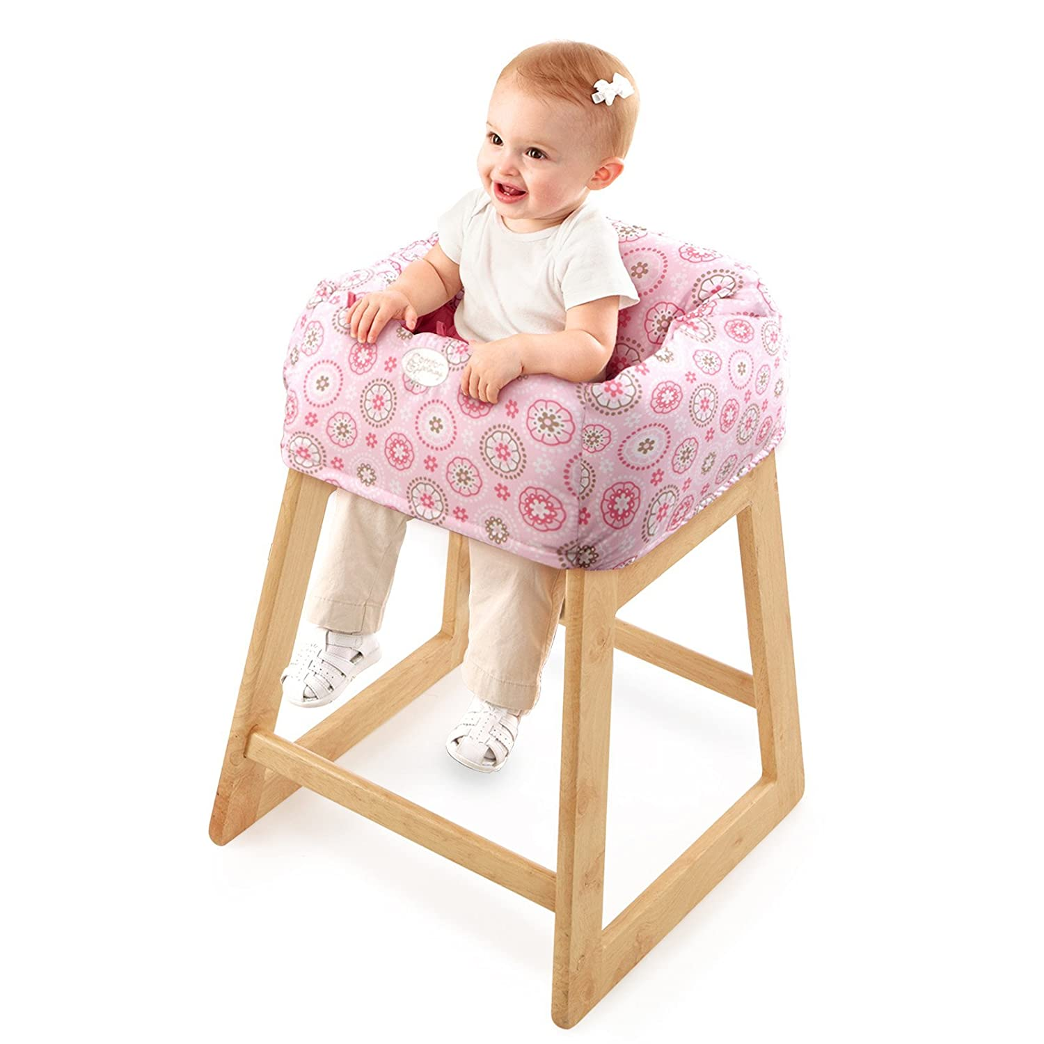 carters high chair cover office wheel base shopping cart portable baby toddler safe