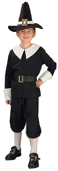 Forum Novelties Pilgrim Boy Costume, Child's Medium