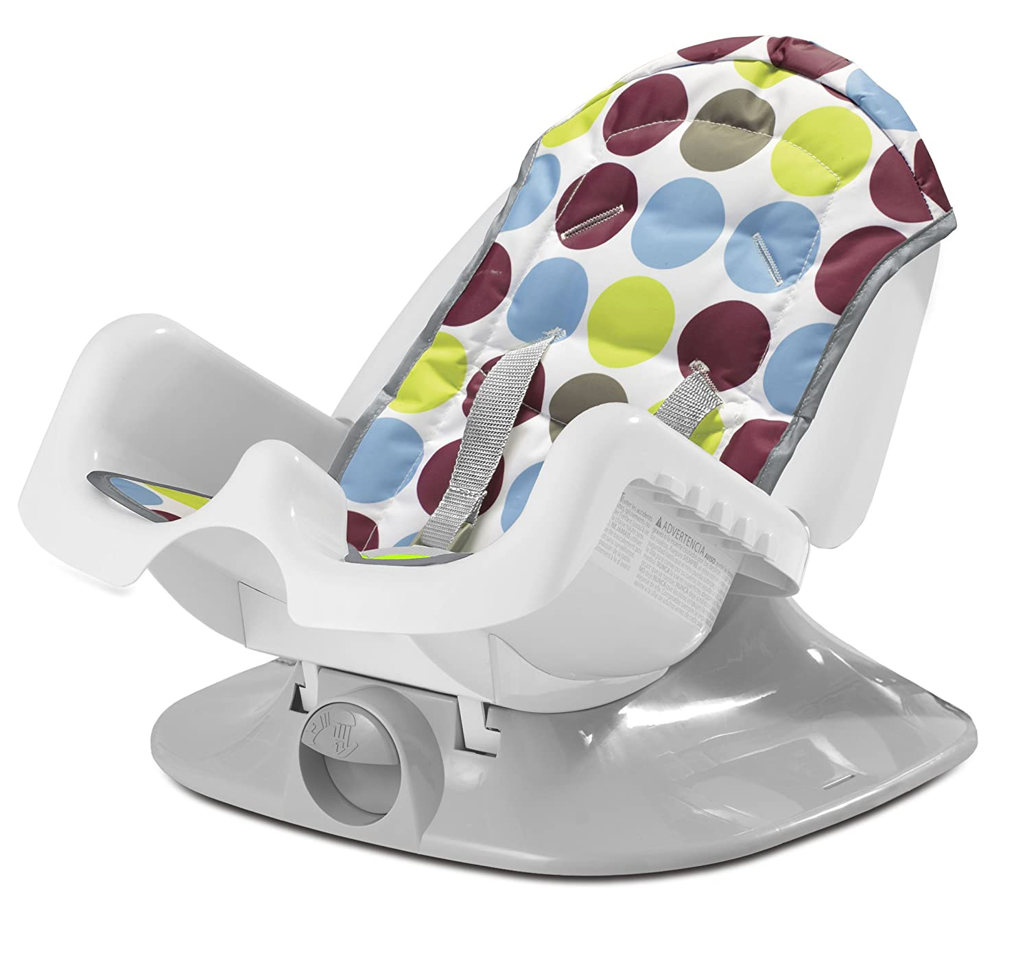 adult baby high chair wood arm reclining seat feeding diner highchair booster