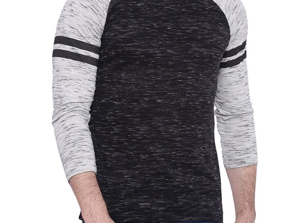 Campus Sutra Men's Round Neck T-shirt