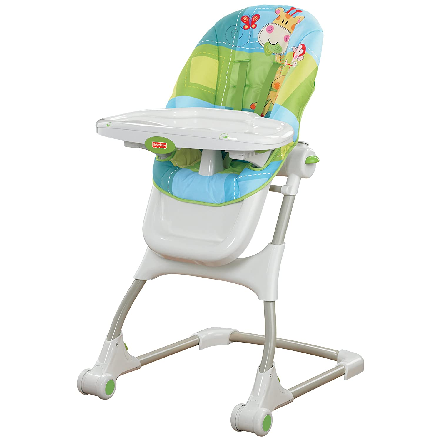 High Chair Fisher Price Fisher Price Discover And N Grow Jungle Ez Clean Baby