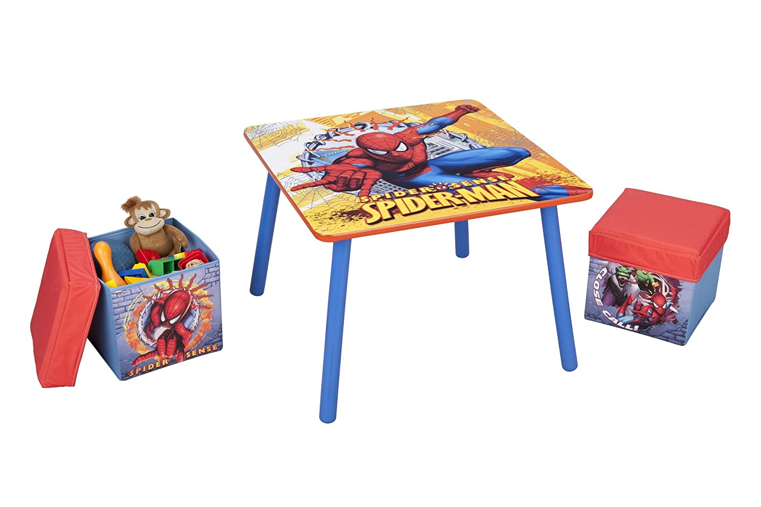 spiderman table and chairs redman power chair reviews furniture totally kids bedrooms