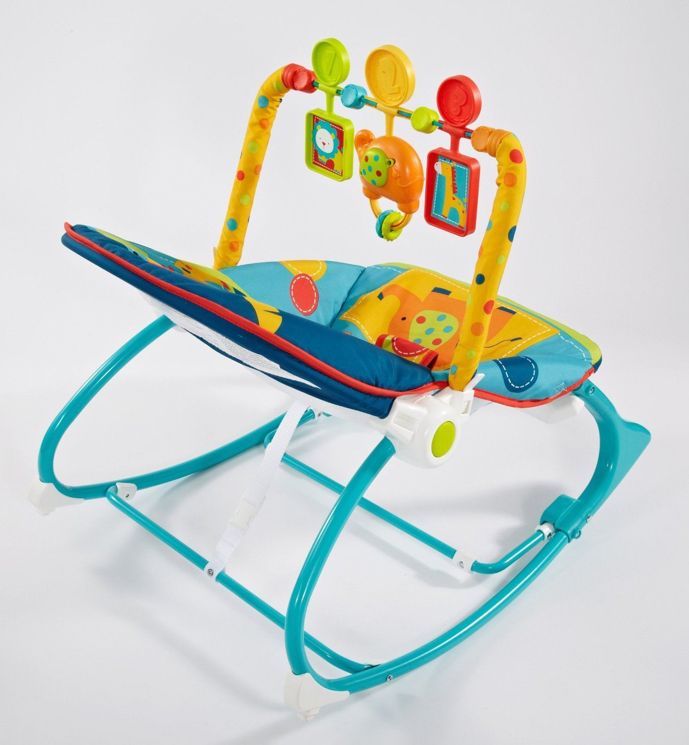 baby chair that vibrates patio recliner fisher price rocker classy gear