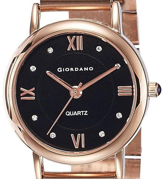 Giordano Analog Black Dial Women's Watch-2807-11