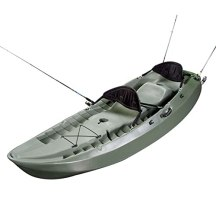 Lifetime Sport Fisher Kayak with Paddles and Backrests review