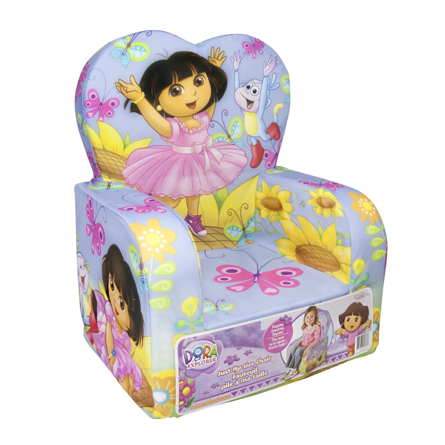 kids table and chair set kmart wheelchair zipp disc racing wheels 700c dora the explorer furniture - totally kids, bedrooms bedroom ideas
