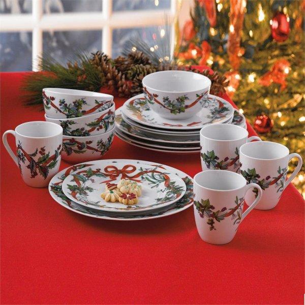 Christmas Dinnerware Sets Wikii