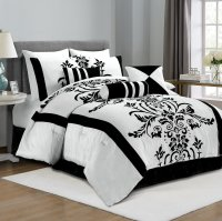 Black and White Bedding  Ease Bedding with Style
