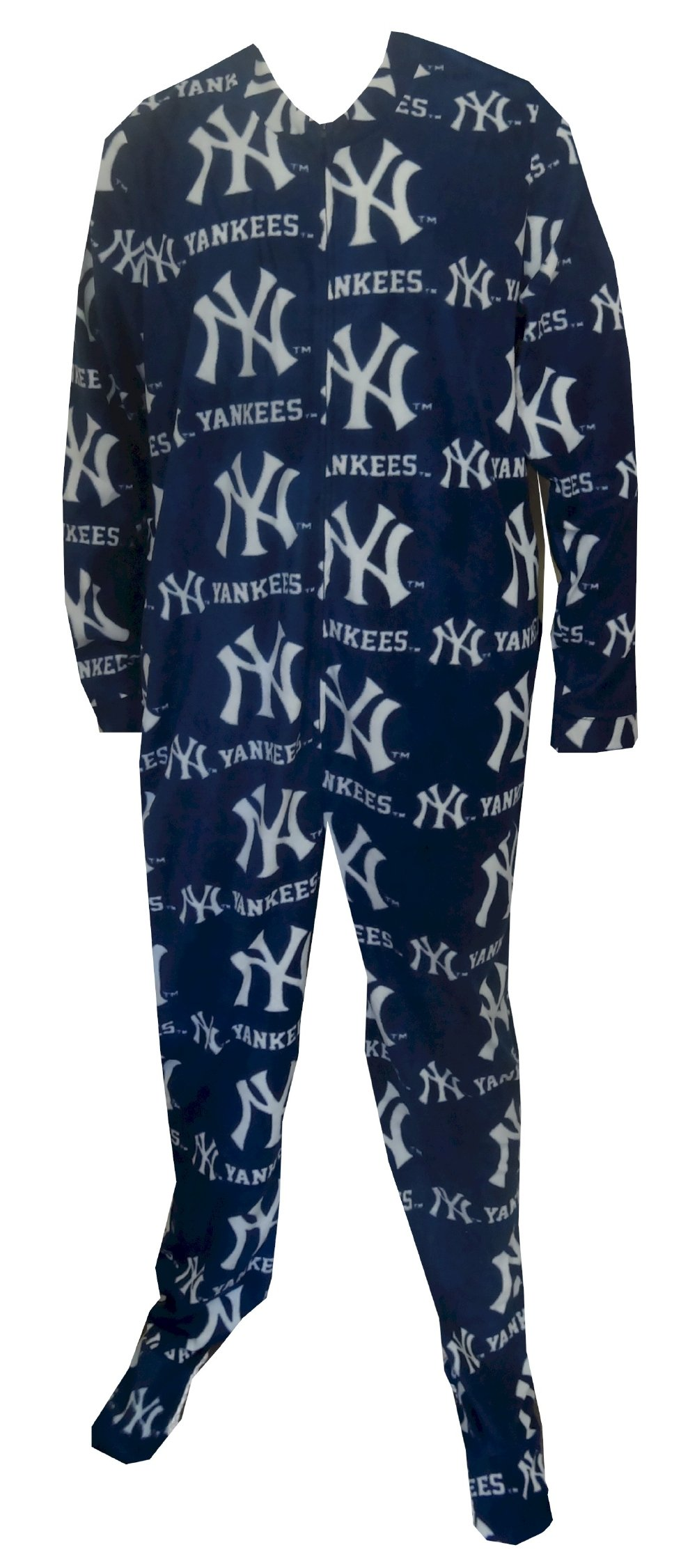 New York Yankees Guys Onesie Footie Pajama for men