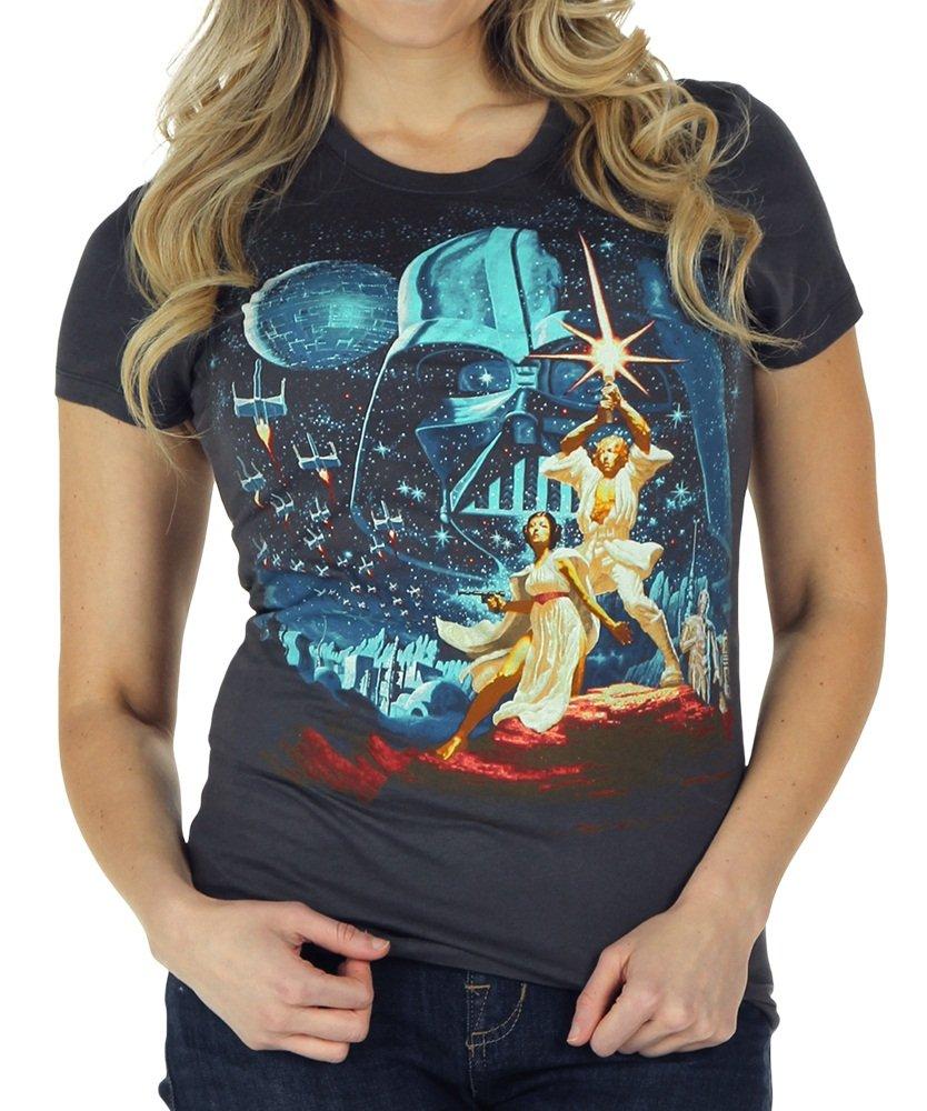 Star Wars Classic Vintage Black T-Shirt Black