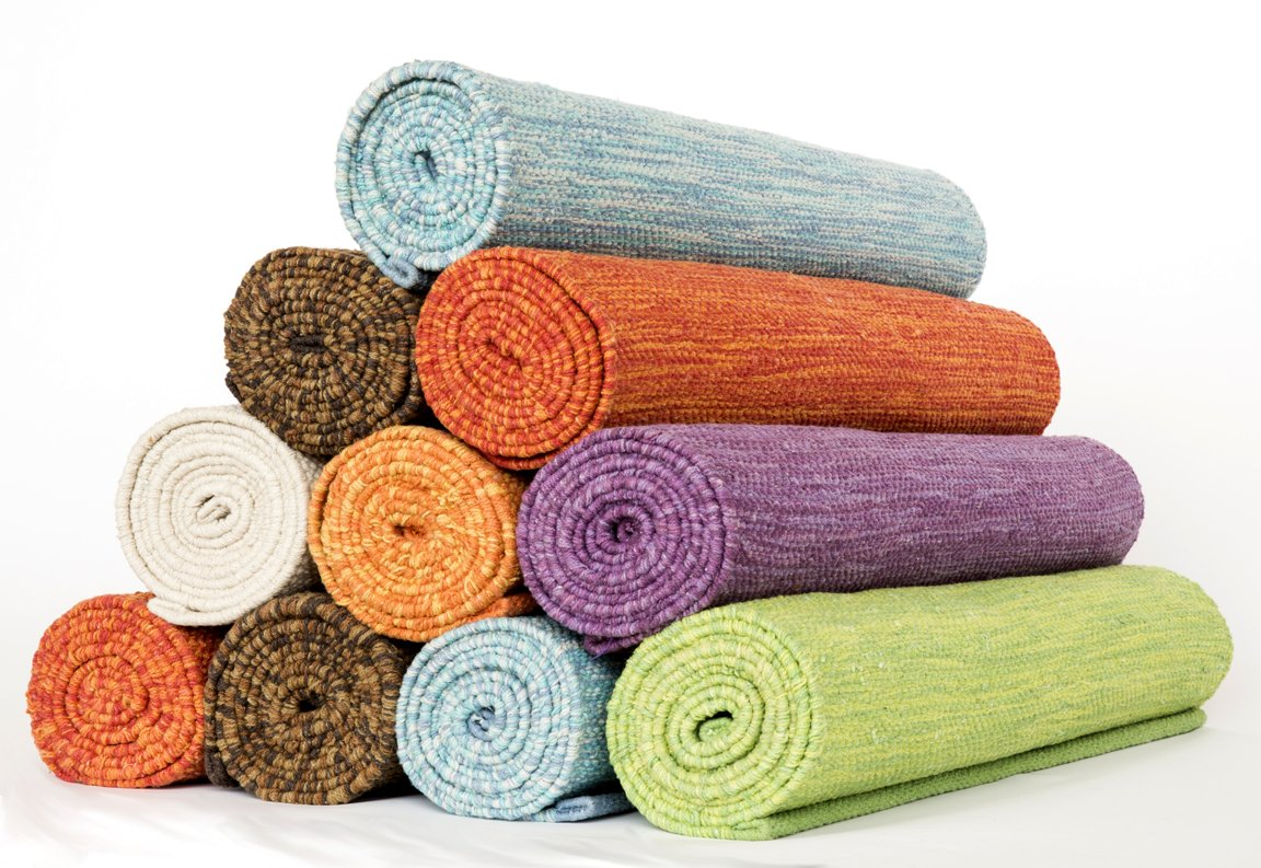 Great Click And See Offer Details On Amazon! Extra Long Handmade Cotton Yoga Mat  ...