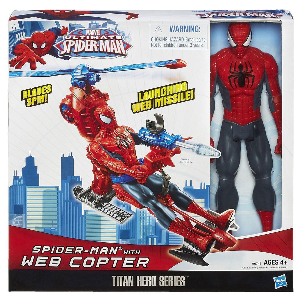 Amazoncom Marvel Ultimate SpiderMan Titan Hero Series