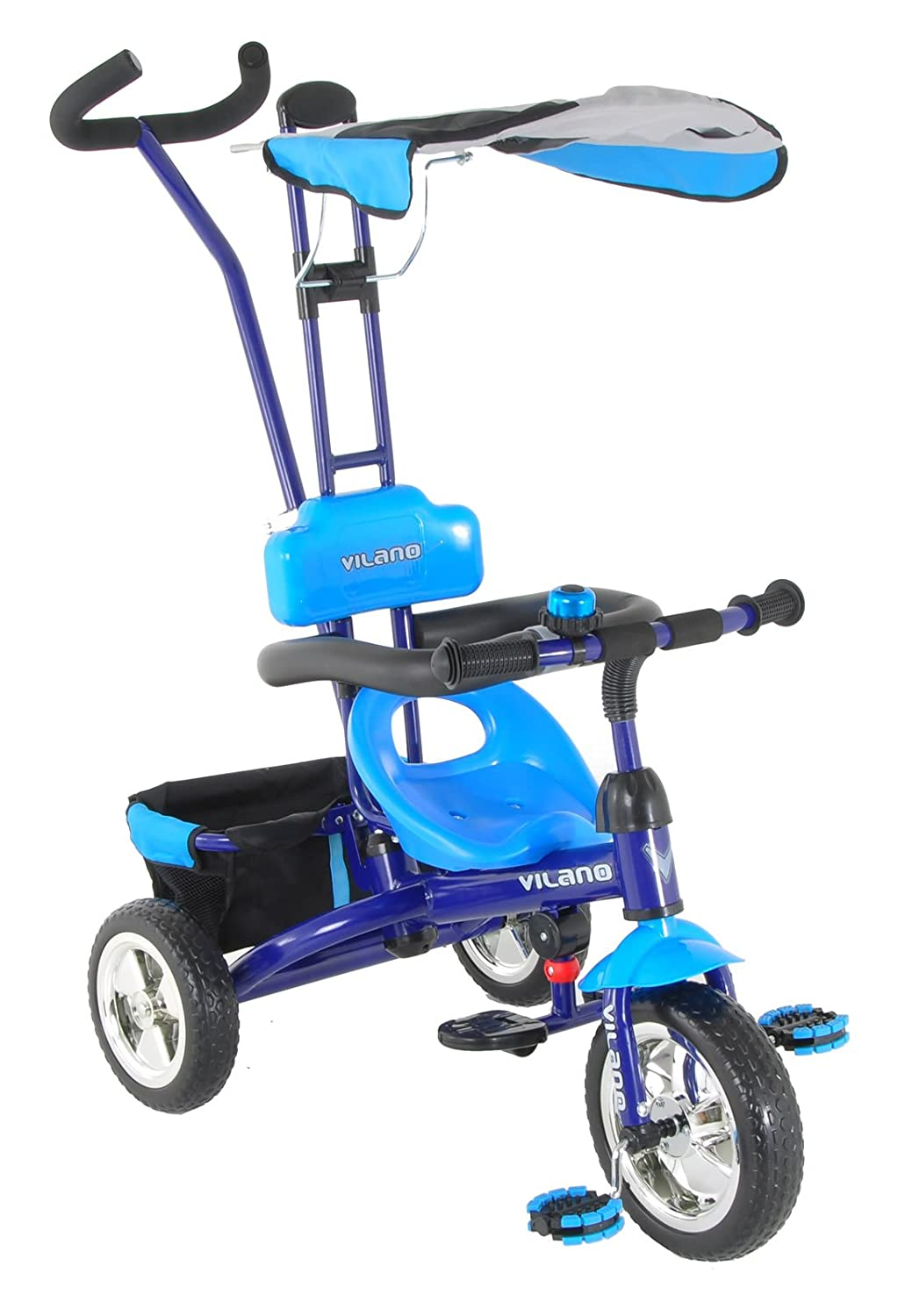 Vilano 3 in 1 Tricycle & Learn to Ride Trike