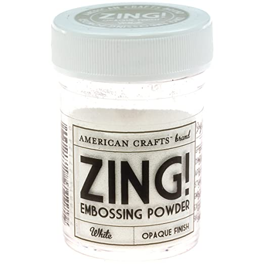 Zing! Opaque Embossing Powder, 1-Ounce, White