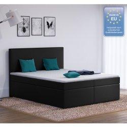 Designer Boxspringbett 160x200 Doppelbett Polsterbett Bett ...