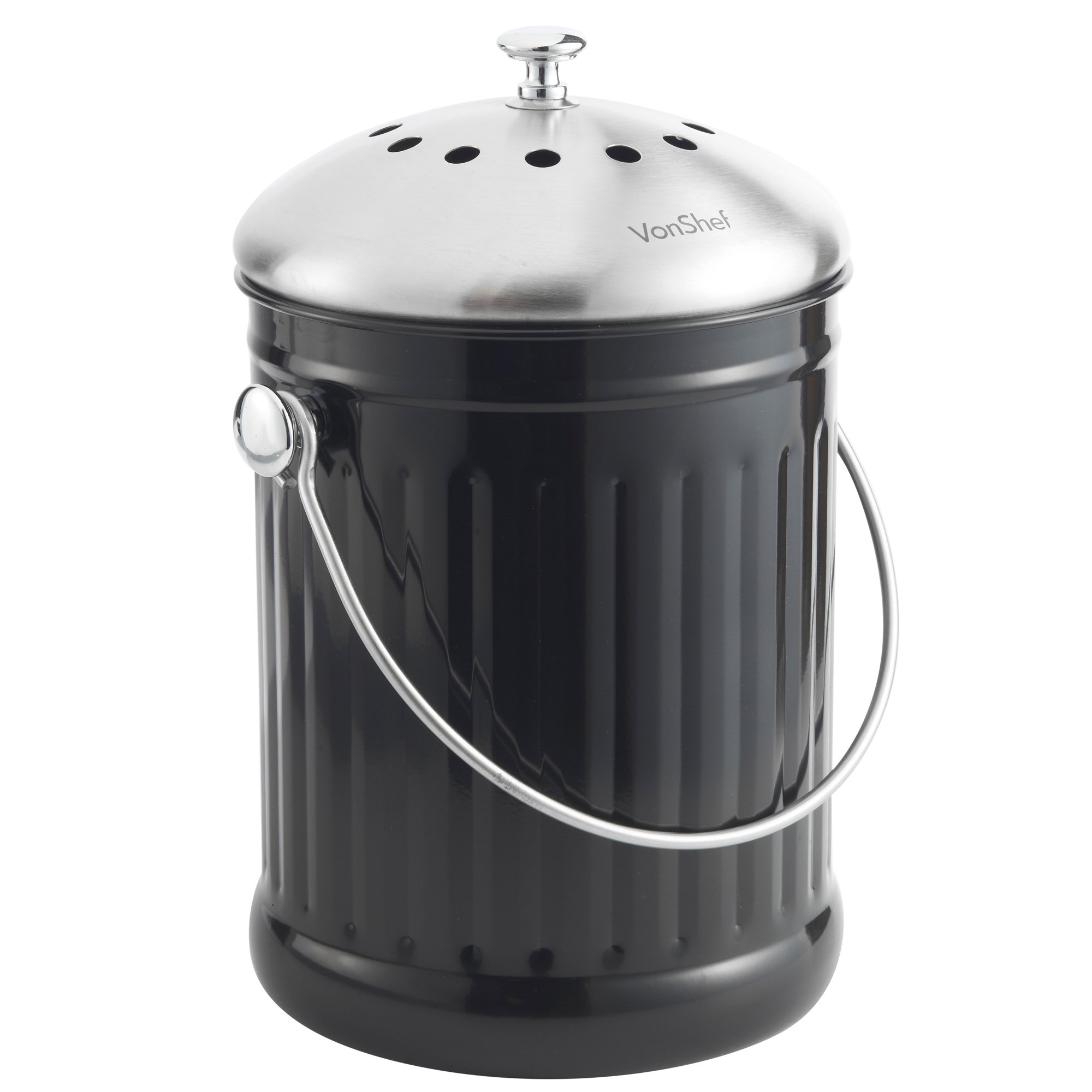 Vonshef 12 Gallon Countertop Kitchen Compost Bin