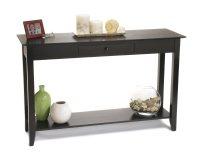 Black Console Table - Native Home Garden Design