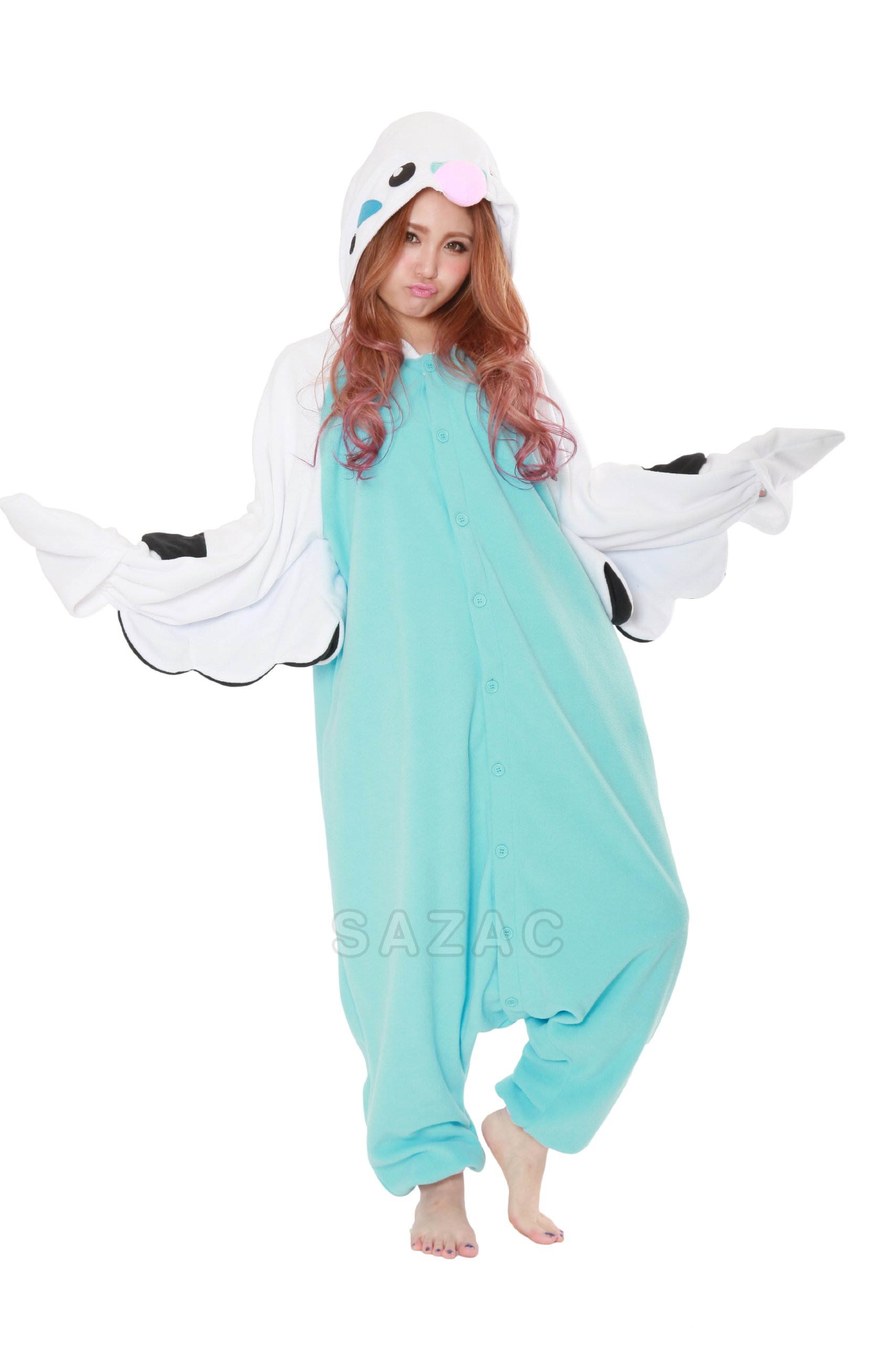 Sazac Budgie Kigurumi - Adults Costume
