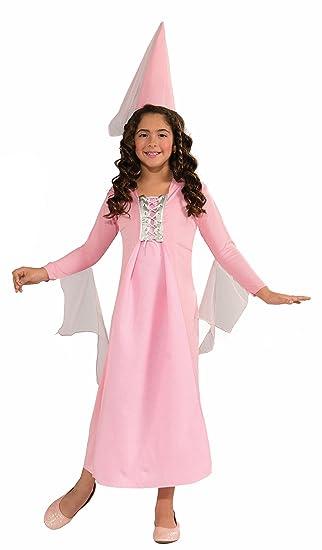 Forum Novelties Pretty Pink Princess Costume, Child Large