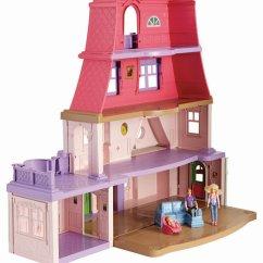 Fisher Price Loving Family Kitchen Contemporary Backsplash Dollhouse New Free Shipping