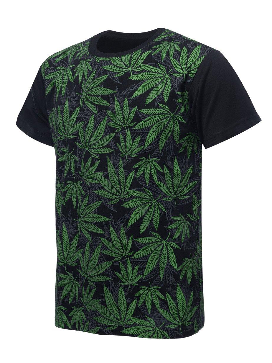 URBAN K Men's Printed Hemp T-Shirt