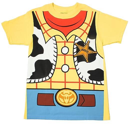 Toy Story Woody Cowboy Costume Banana Yellow Adult T-shirt Tee Medium