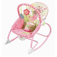 Infant Bouncy Chair Metal Arm Chairs Fisher Price To Toddler Rocker Pink Mouse W2583