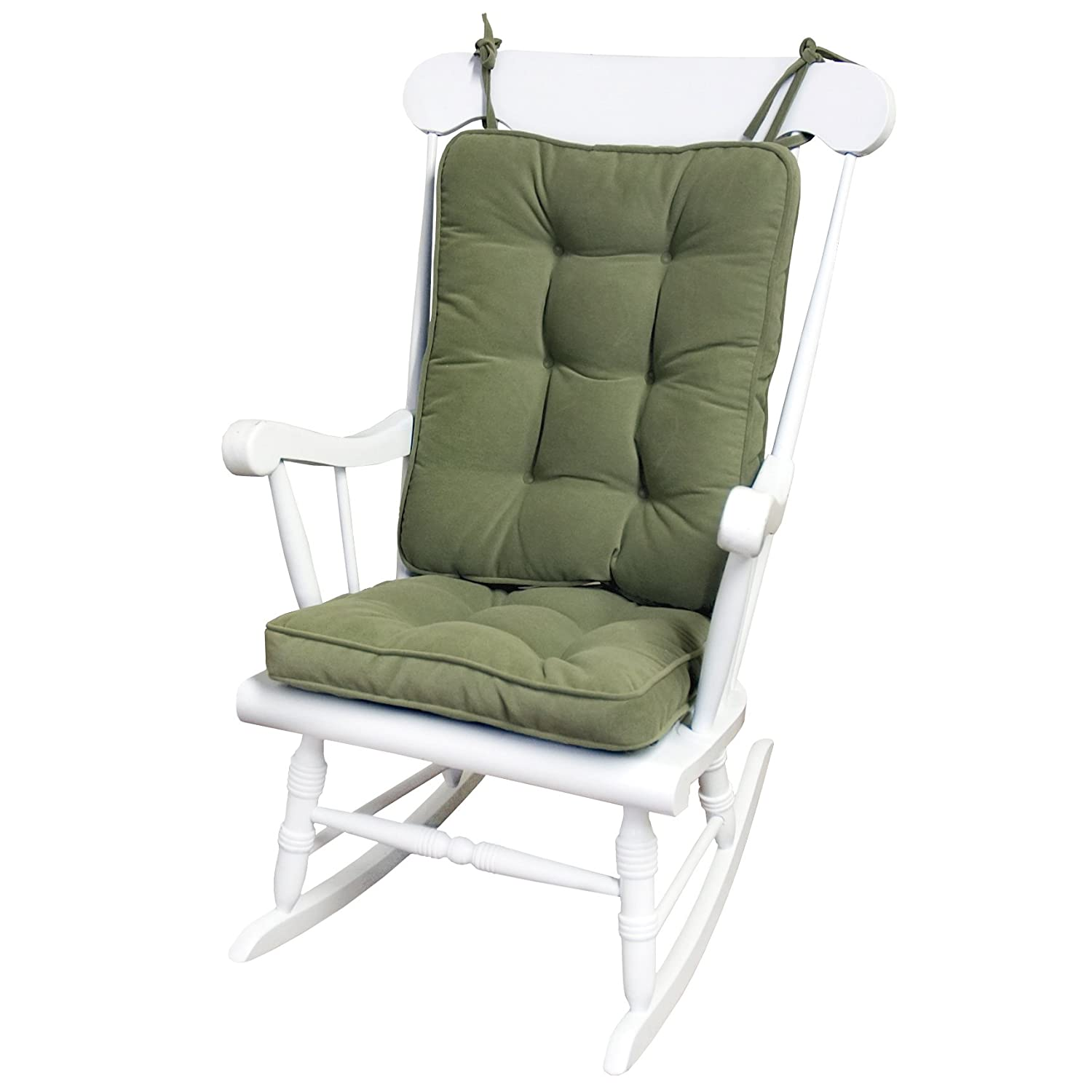 glider rocker chair cushions reclining with ottoman outdoor greendale home fashions standard rocking cushion