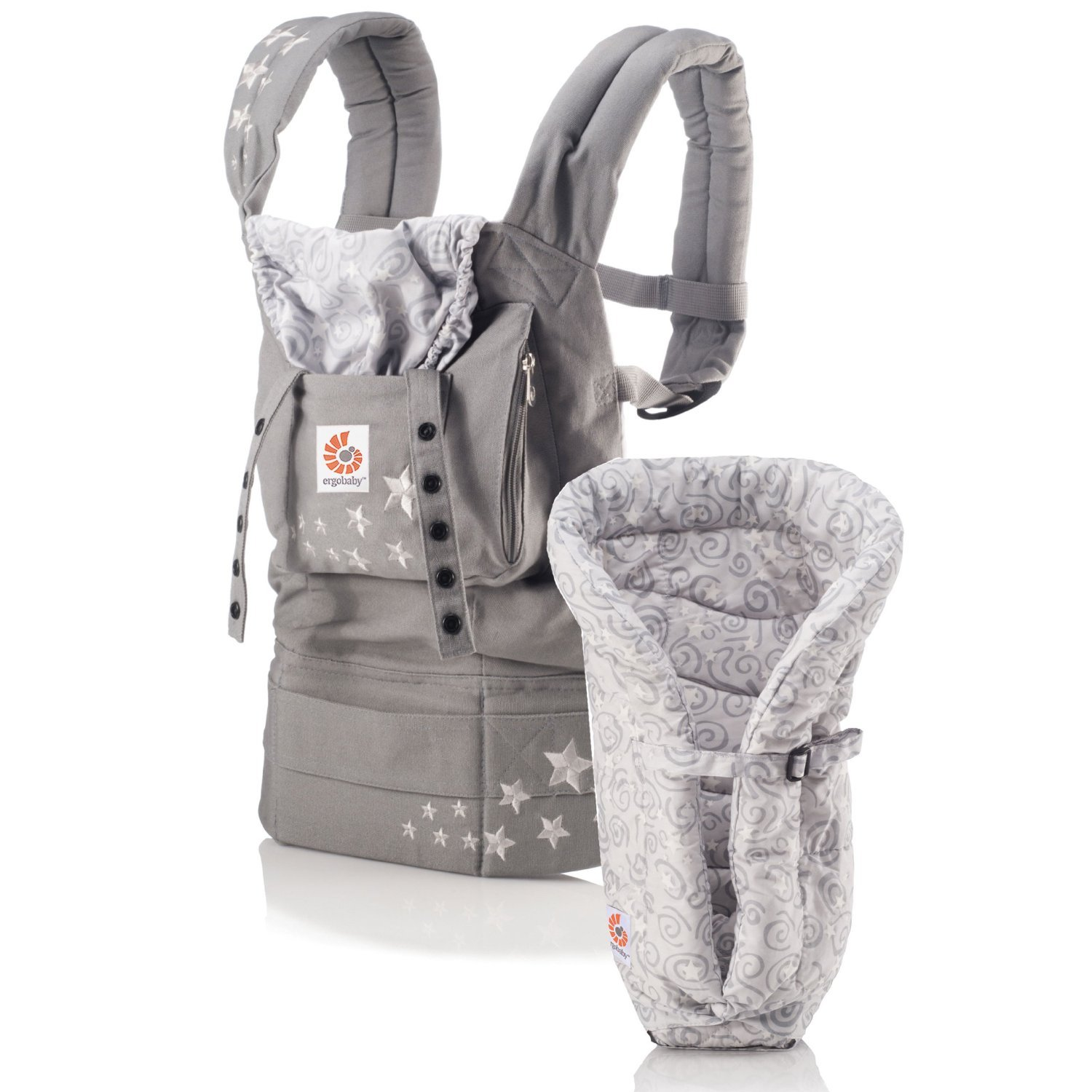 how to put baby in ergo carrier on back