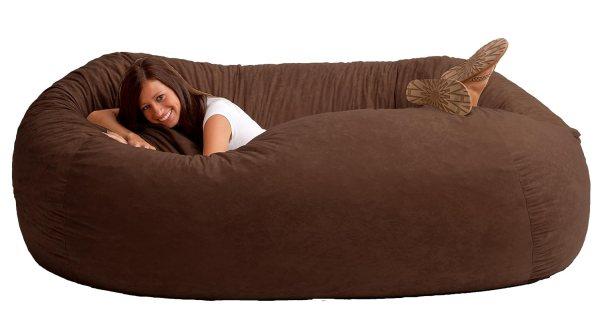 Chair Sofa Oversized Furniture Recline Comfort Seat Lounge Bedroom Dorm Bean Bag