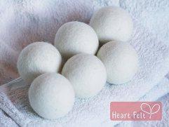 Organic Wool Dryer Balls (Amazon)
