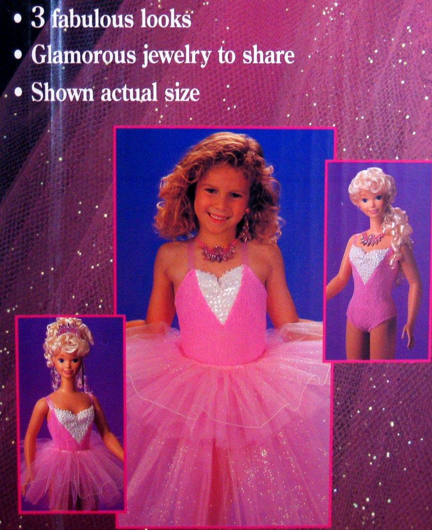 MY SIZE Barbie Doll w 3 Fabulous Looks! (1992)
