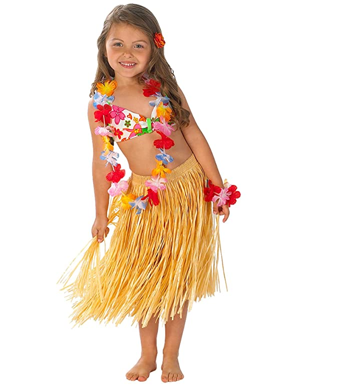 Hula Girl Toddler/Child Costume Size 10/12