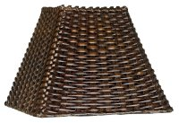 Plastic Wicker Lamp Shades - Native Home Garden Design