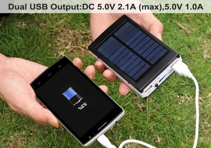 Best Solar Chargers for Your Phone | Solar Chargers 2018 4