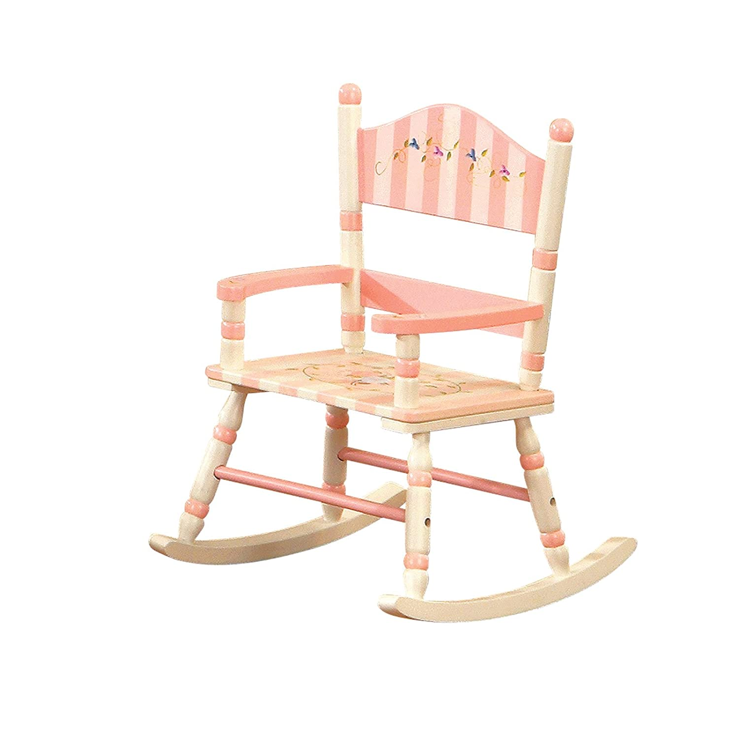 Toddler Rocker Chair Kids Wooden Rocking Chair Fel7