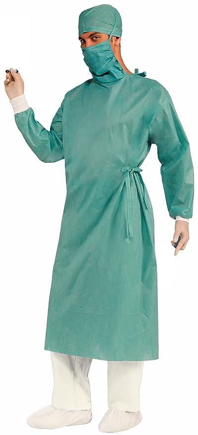 Forum Novelties Men's Master Surgeon Adult Costume, Green, One Size