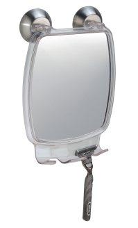 Shower Shave Mirror Power Lock Fog Free Fogless Shaving ...