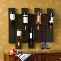 Amazon.com - SEI Navarra Wall Mount Wine Rack - Wall Wine ...