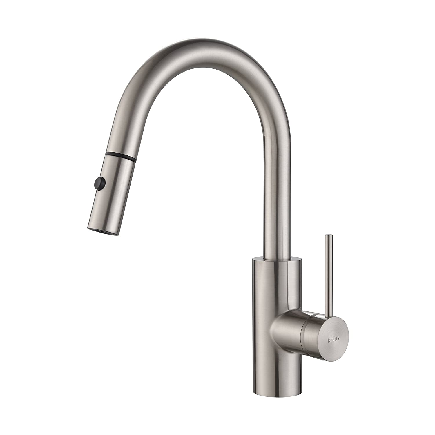 single lever kitchen faucet lighting fixtures for low ceilings kraus mateo modern with coil  pros and
