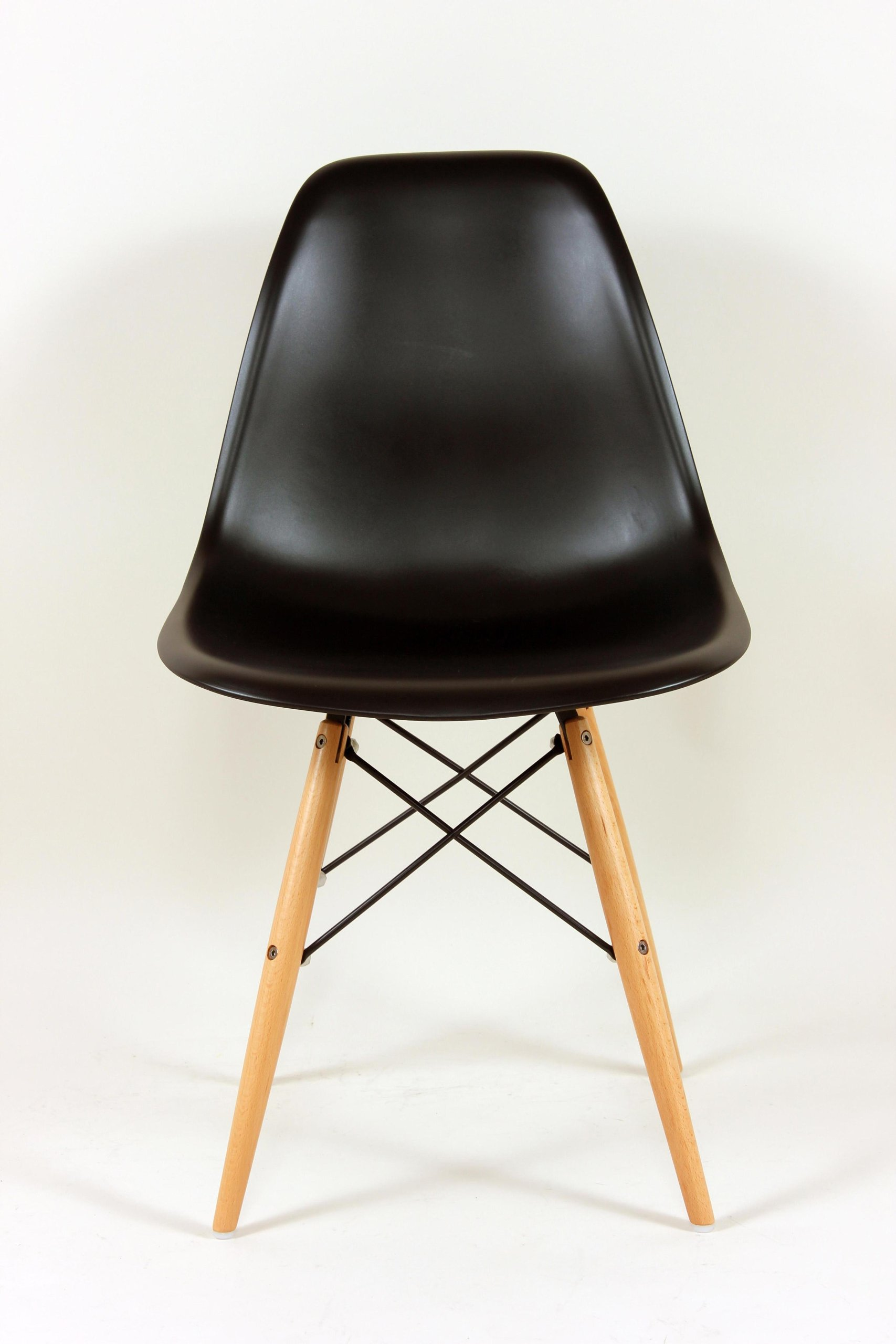 eames style plastic chair foldable camping chairs navy green dsw mid century molded