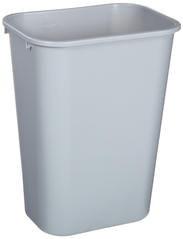 Rubbermaid Bathroom Wastebasket Plastic Trash Can Bin