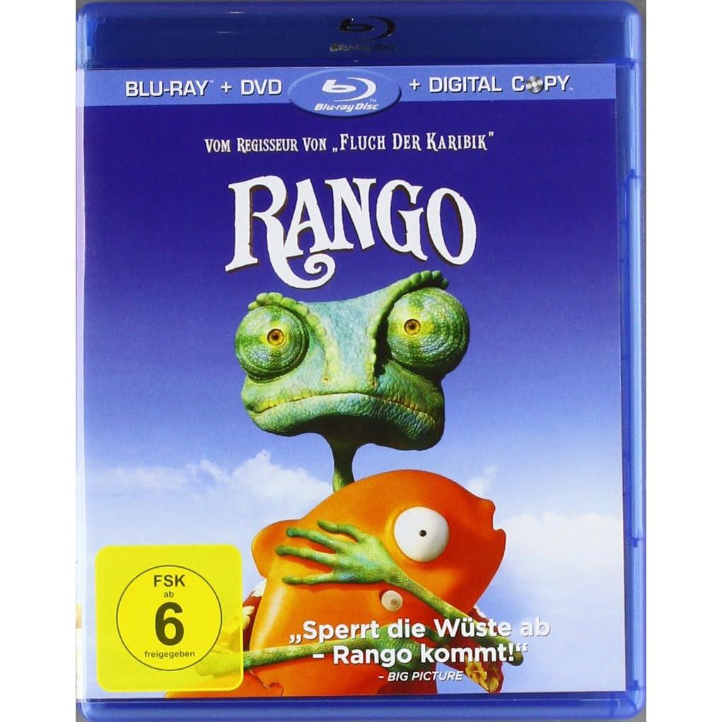 Rango Blu-Ray; 15,99 Euro